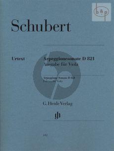 Sonate Arpeggione a-moll D.821 Viola und Klavier