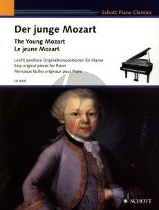 Mozart Der Junge Mozart Klavier (Leicht spielbare Originalst. der sechs- und achtjahrigen Mozart) (edited by Heinz Schungeler)