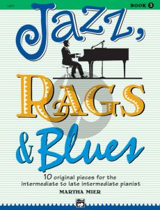 Mier Jazz-Rags & Blues Vol.3 for Piano (Intermediate to Late Intermediate)