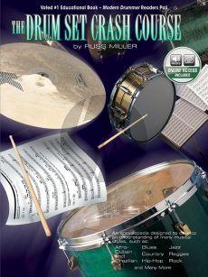 Miller The Drum Set Crash Course (Book with Audio online)