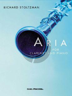 Stoltzman Aria Clarinet-Piano Book