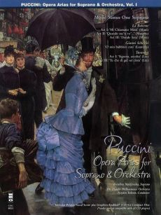 Puccini Opera Arias for Soprano with Orchestra Vol.1 (Bk-Cd) (MMO)