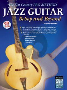 Munro 21st. Pro Method Jazz Bebop & Beyond Guitar (Bk-Cd)