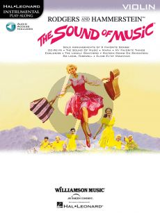 The Sound of Music for Violin (Book with Audio online)