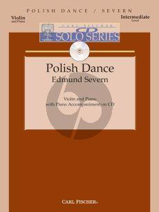Severn Polish Dance Violin-Piano (Bk-Cd)
