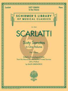 Scarlatti 60 Sonatas (Vol.1-2 Complete) (edited R.Kirkpatrick)