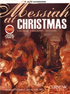 Messiah at Christmas for Alto Sax. (Bk with play-along/demo Cd) (arr.J.Curnow) (interm./advanced level)