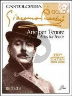 Arias for Tenor (Voice-Piano) (Bk-Cd)