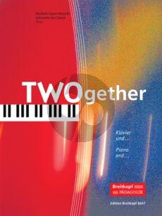 Monarth-Zabner TWOgether (14 Duos) Piano with Violin/Violonc./Flute/Alto Sax./Trumpet)