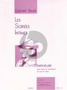 Faure Berceuse Op.16 Violin (or Viola or Violoncello) and Piano