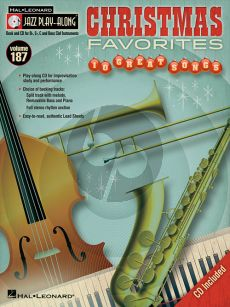 Christmas Favorits (Jazz Play-Along Series Vol.111) (all C.-Bb.-Eb and Bass Clef Instr.) (Bk-Cd)