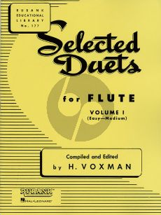 Voxman Selected Duets for Flute Vol.1 (Easy-Medium)