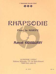 Grandjany Rhapsodie pour Harpe (Grade 8)
