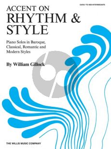 Gillock Accent on Rhythm and Style (grade 2 - 3)