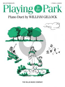 Gillock Playing in the Park Piano 4 hds
