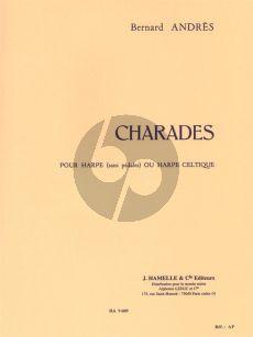 Andres Charades Harpe (15 Etudes Faciles) (element.-interm)