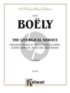 Boely Liturgical Service Vol. 1 Organ