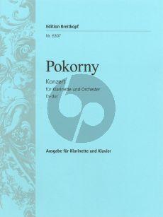 Pokorny Konzert Es-dur Klarinette-Orchester (KA) (Becker-Manicke)