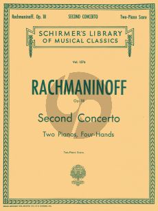 Rachmaninoff Concerto No.2 Op.18 (Piano-Orch.) (red. 2 piano's)