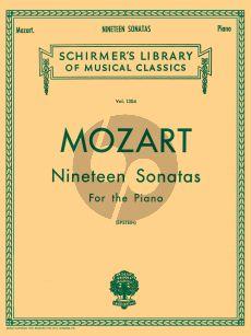 Mozart 19 Sonatas for Piano solo (Richard Epstein)