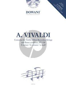 Vivaldi Concerto a-minor RV 108 Treble Rec-Strings-Bc. (Bk-Cd)