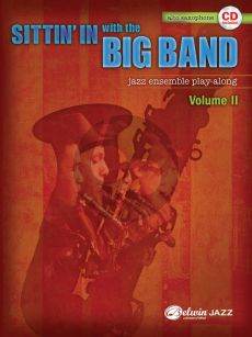Sittin In With the Big Band Vol. 2 for Alto Saxophone (Bk-Cd)