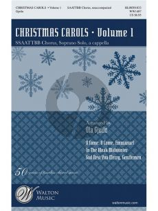 Christmas Carols Vol.1 SSAATTBB Chorus