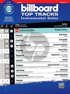 Billboard Top Tracks Instrumental Solos Clarinet (Bk-Cd)