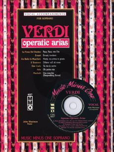 Verdi Operatic Arias for Soprano (Bk-Cd) (MMO) (Pianist John Wustman)