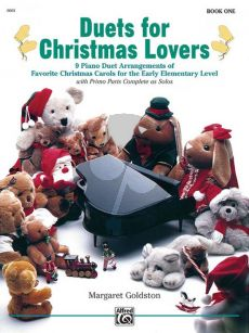 Goldston Duets for Christmas Lovers Vol.1 (9 Duet Arrangements Early Elementary)