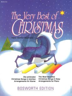 Heumann The Very Best of Christmas Piano solo (easy level)