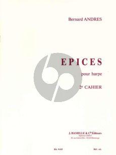 Andres Epices Vol.2 pour Harpe (interm.level)