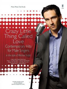 Buble Crazy Little Thing Called Love (BK-Cd) (Music Minus One)