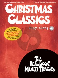 Christmas Classics (Real Book Multi-Tracks Play-Along Vol.9 (for all C-Bb-Eb and Bas clef Instr.) (Book with Audio online)
