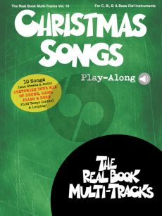 Christmas Songs (Real Book Multi-Tracks Play-Along Vol.9 (for all C-Bb-Eb and Bas clef Instr.) (Book with Audio online)