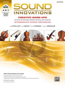 Sound Innovations for String Orchestra (Creative Warm-Ups) Cello/Bass (Book with Audio online)