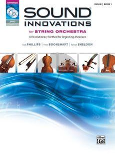 Sound Innovations for String Orchestra, Book 1 Violin (Bk-CD-DVD)
