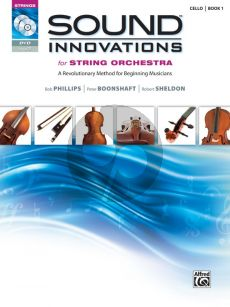 Sound Innovations for String Orchestra, Book 1 Cello (Bk-CD-DVD)