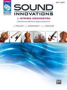 Sound Innovations for String Orchestra, Book 1 Bass (Bk-CD-DVD)