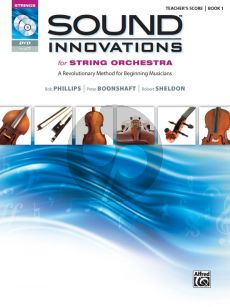 Sound Innovations for String Orchestra, Book 1 Conductor Score (Bk-CD-DVD)