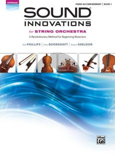 Sound Innovations for String Orchestra Book 1 Piano Accompaniment (Book)