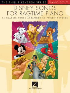 Disney Songs for Ragtime Piano (transcr. by Phillip Keveren)