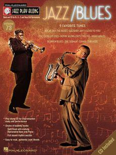 Jazz/Blues (Jazz Play-Along Series Vol.73) (all C.-Bb.-Eb. and Bass clef Instr.) (Bk-Cd)