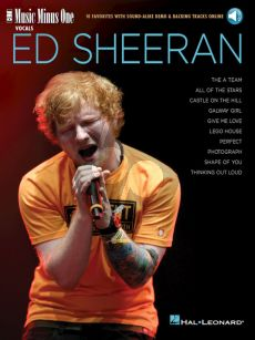Ed Sheeran 10 Favorites with Sound-Alike Demo & Backing Tracks (Book with Audio online) (MMO)