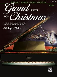 Bober Grand Duets for Christmas Book 2 Piano 4 hds