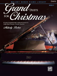 Bober Grand Duets for Christmas Book 3 Piano 4 hds