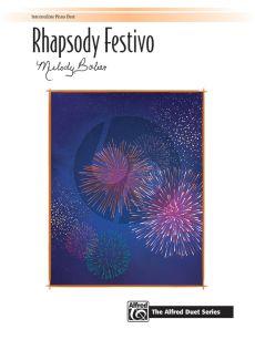 Bober Rhapsody Festivo Piano 4 hds