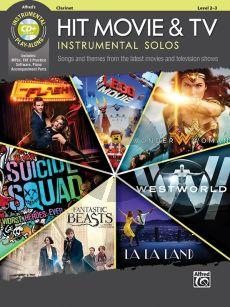 Hit Movie & TV Instrumental Solos for Clarinet (Bk-Cd) (arr. Bill Galliford)