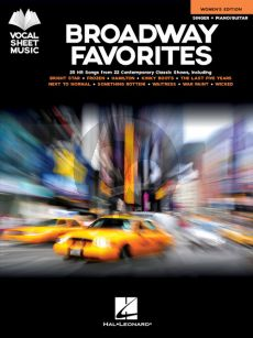 Broadway Favorites – Women's Edition (Singer-Piano/Guitar)