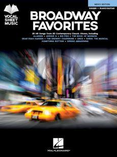 Broadway Favorites – Men's Edition (Singer-Piano/Guitar)